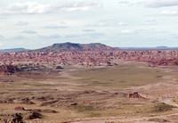 The Painted Desert in the Petrified Forest Nationa Park, Arizona