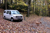 Camping on the Blue Ridge Parkway - October 28, 2007