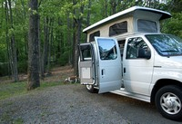 Camping on the Blue Ridge Parkway - May, 2008